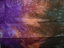 Thistles Hand-Dyed Cotton Fabric