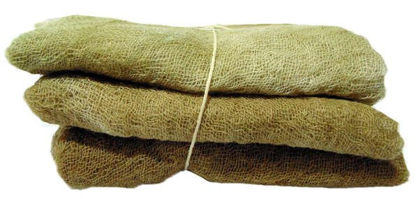 Dulce de Leche- 3pc Hand- Dyed Cheesecloth