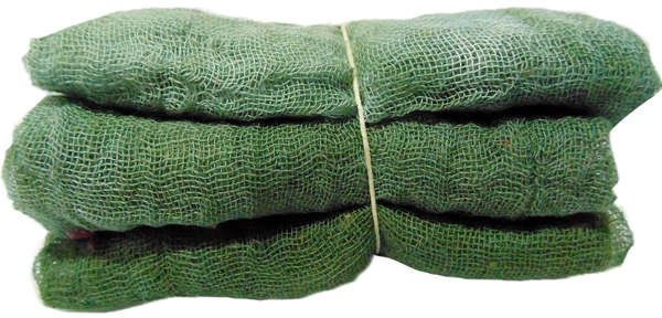 Evergreen- 3pc Hand-Dyed Cheesecloth Gradation