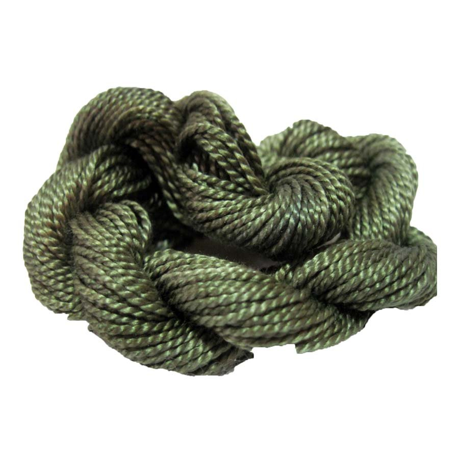 Evergreen Hand-Dyed Perle Cotton Size 8