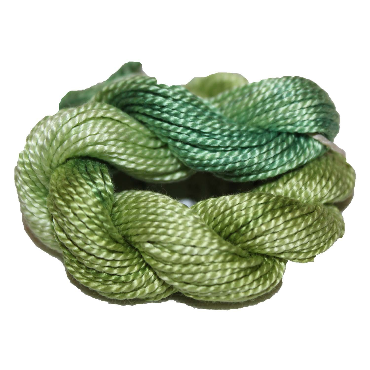 Fern- Hand-Dyed Perle Cotton Size 5