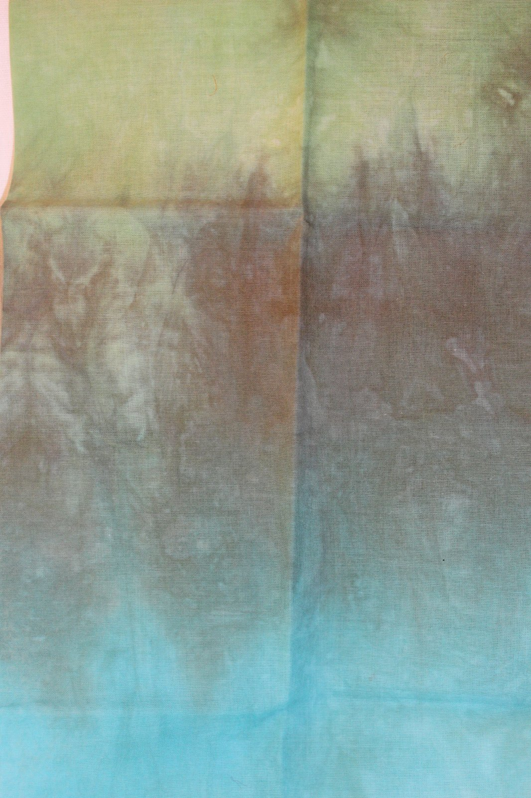Moss Hand-Dyed Organdy FQ