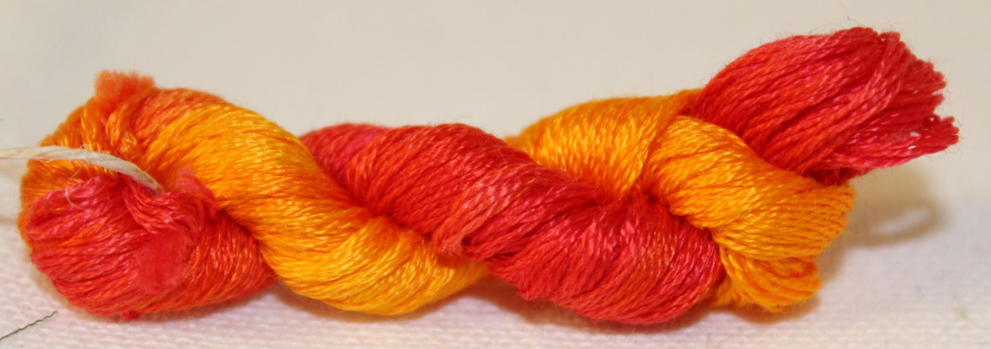 Blaze- Hand-Dyed Embroidery Floss