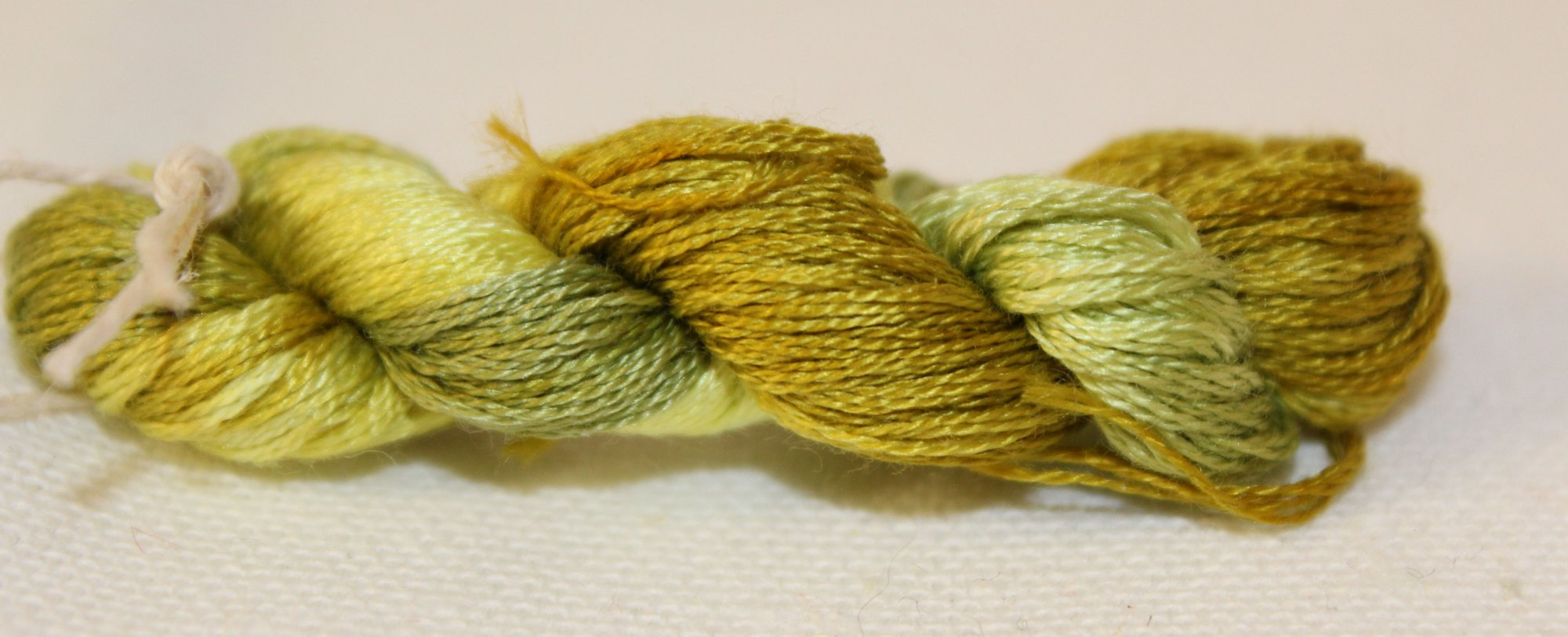 Limeade- Hand-Dyed Embroidery Floss