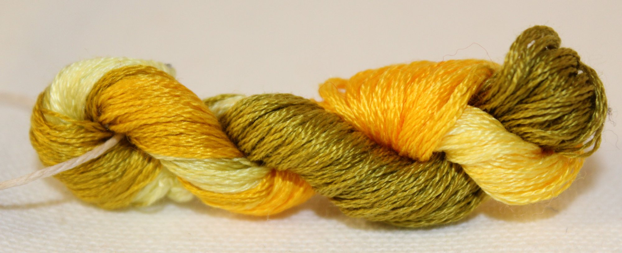 Marigolds- Hand-Dyed Embroidery Floss