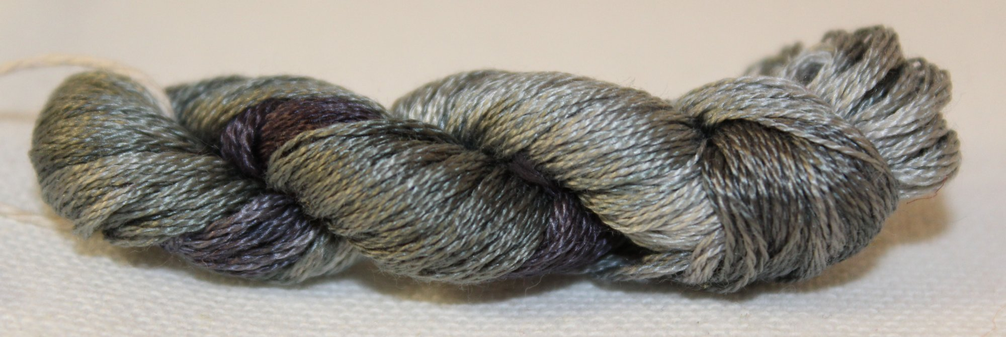 Steely Nights- Hand-Dyed Embroidery Floss