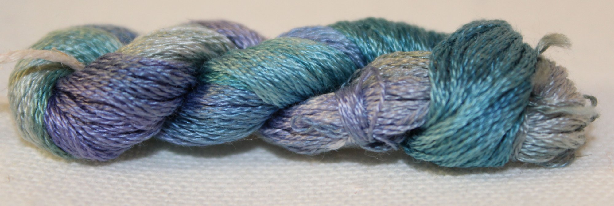 Stormy Seas- Hand-Dyed Embroidery Floss