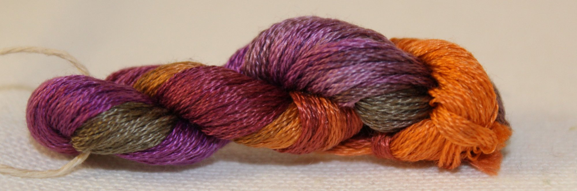 Thistles- Hand-Dyed Embroidery Floss