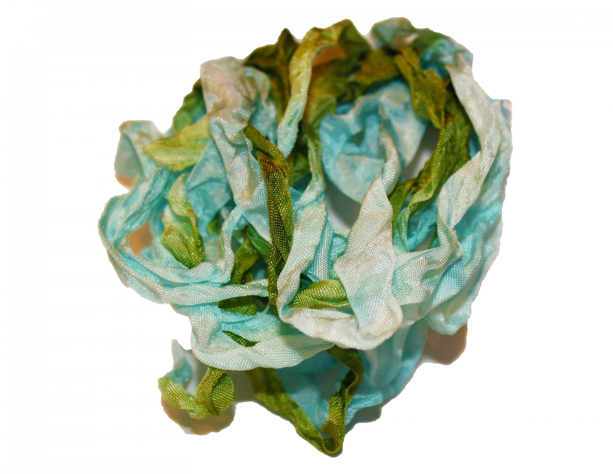 Forget Me Not Hand-Dyed Rayon Seam Binding 5yds