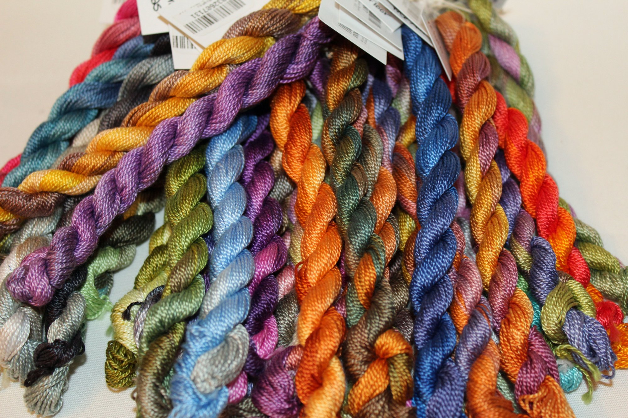 Full Set of Variegated Hand-dyed Size 5 Perle Cotton 41 colors