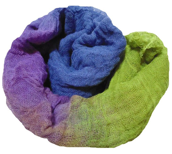 Garden Path 1yd Hand-Dyed Cheesecloth