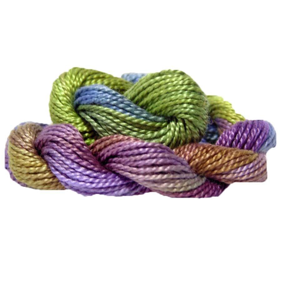 Garden Path- Hand-dyed Perle Cotton Sz12   20yds