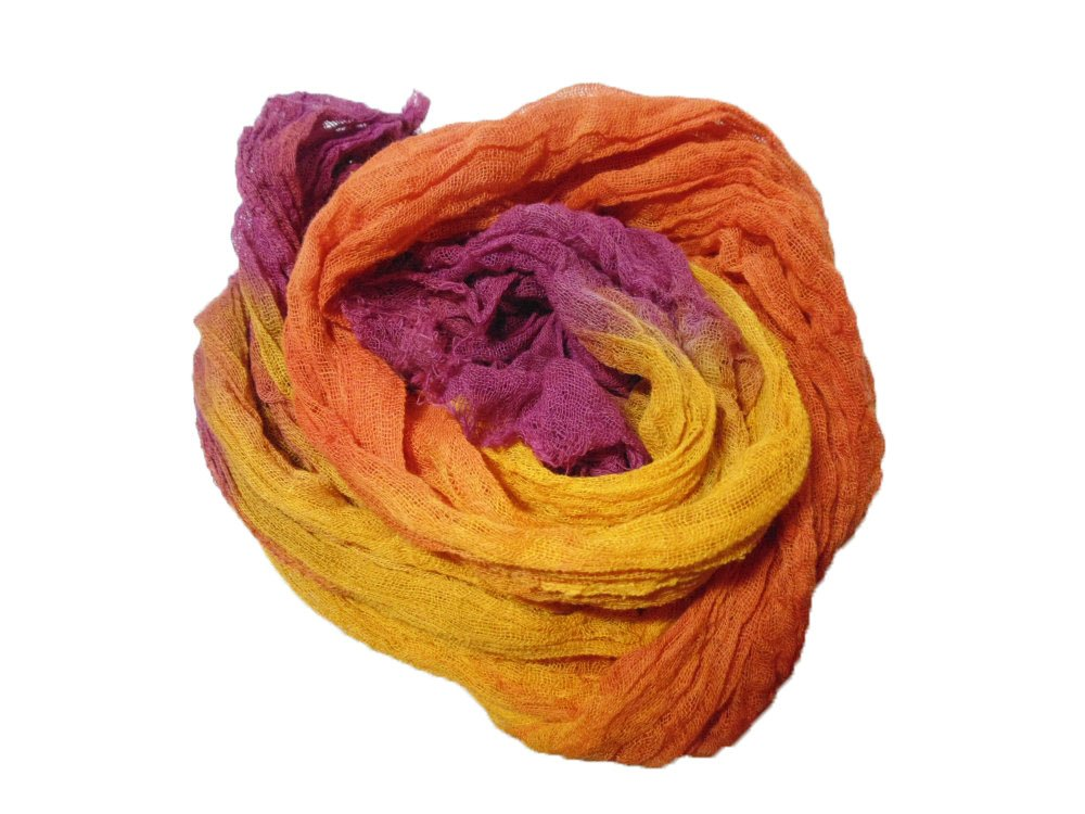 Gelato 1yd Hand-Dyed Cheesecloth