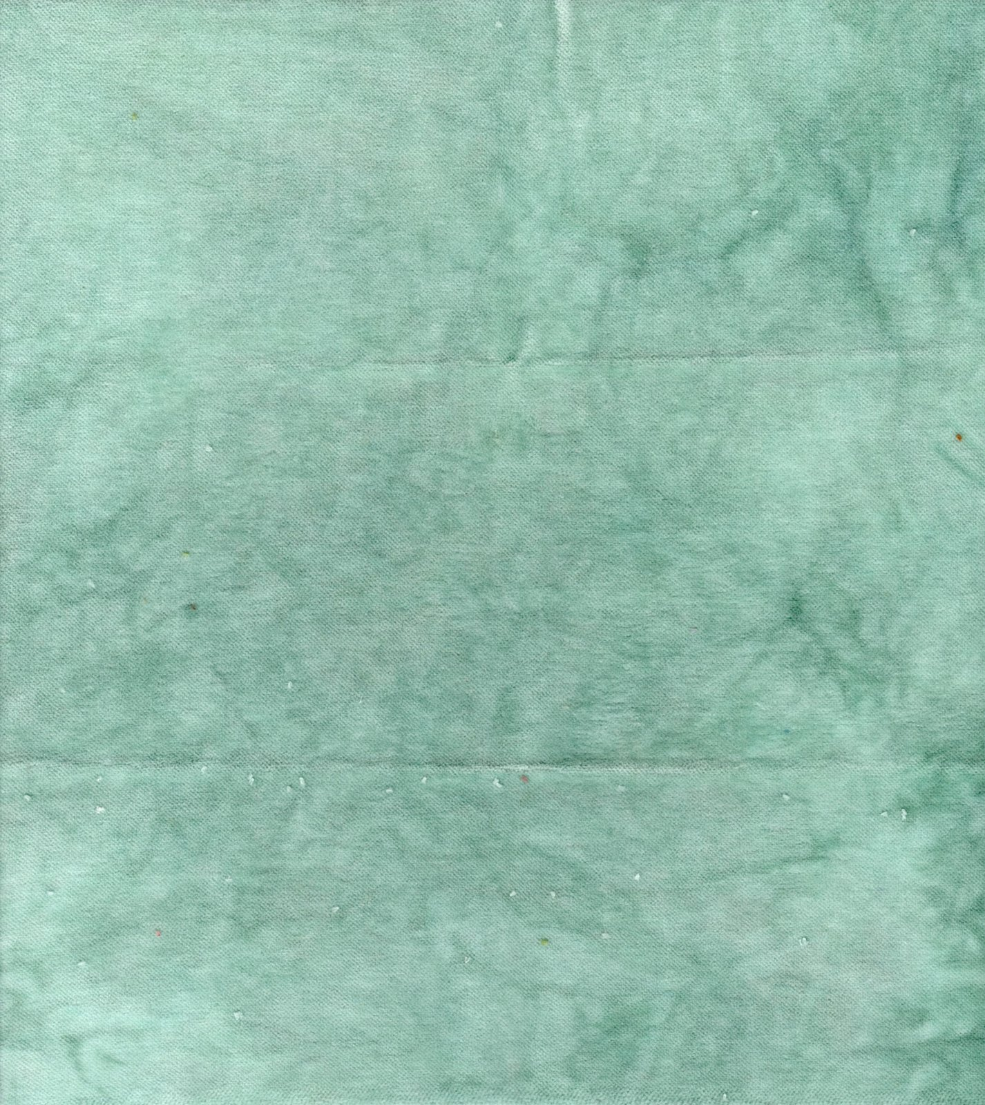 Mint Hand-Dyed Cotton Velveteen 9in x 10in