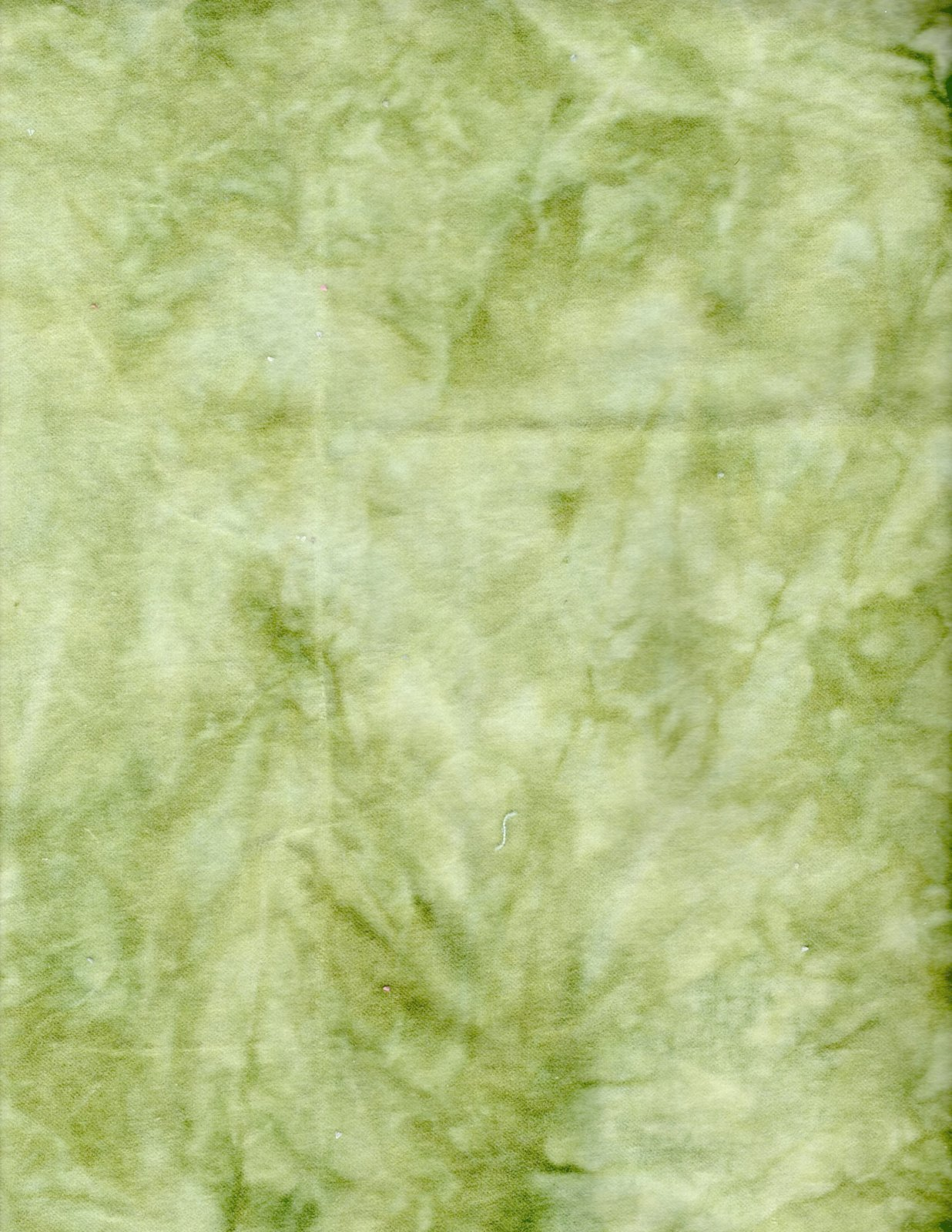 Kiwi Hand-Dyed Cotton Velveteen 9in x 10in