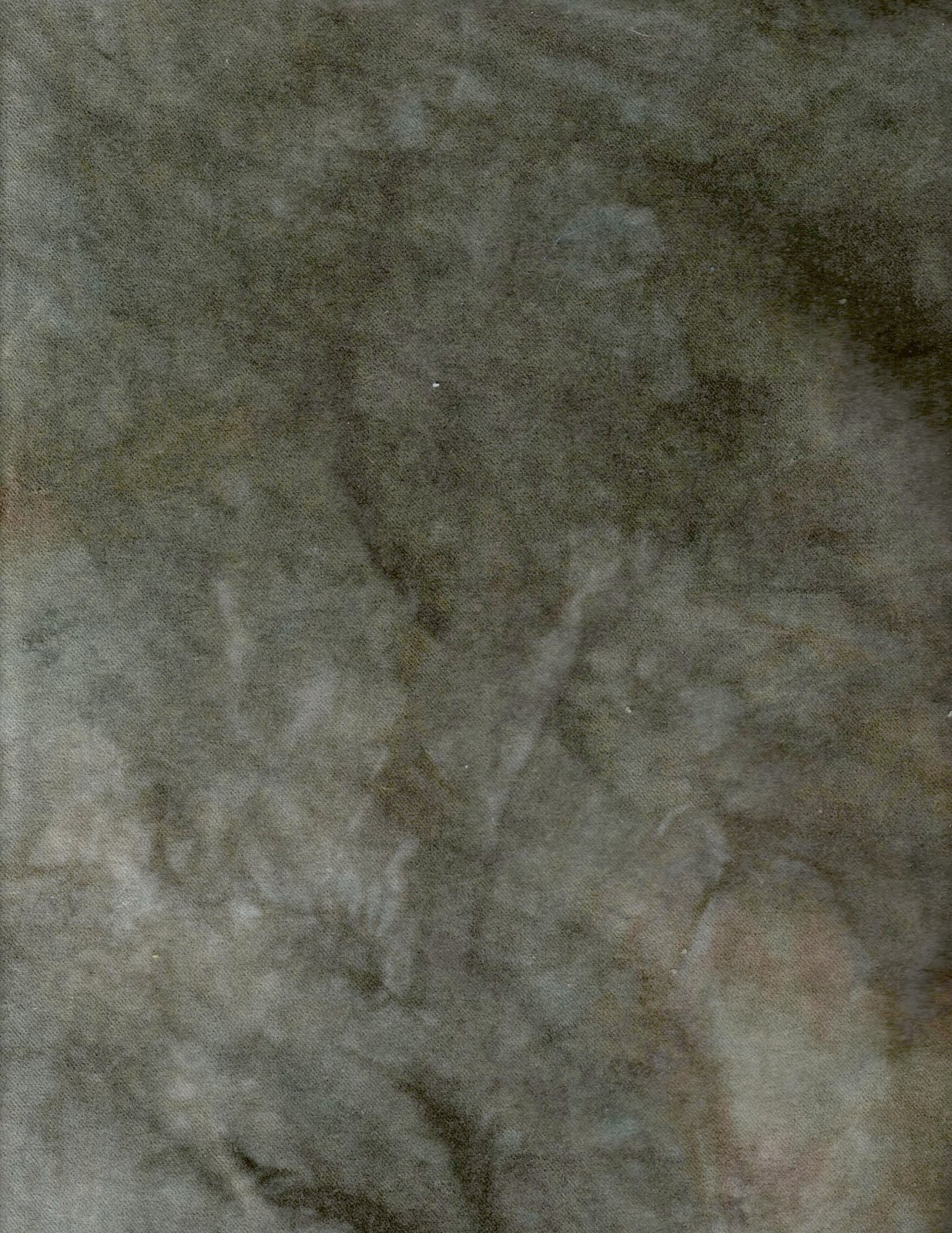 Evergreen Hand-Dyed Cotton Velveteen 9in x 10in