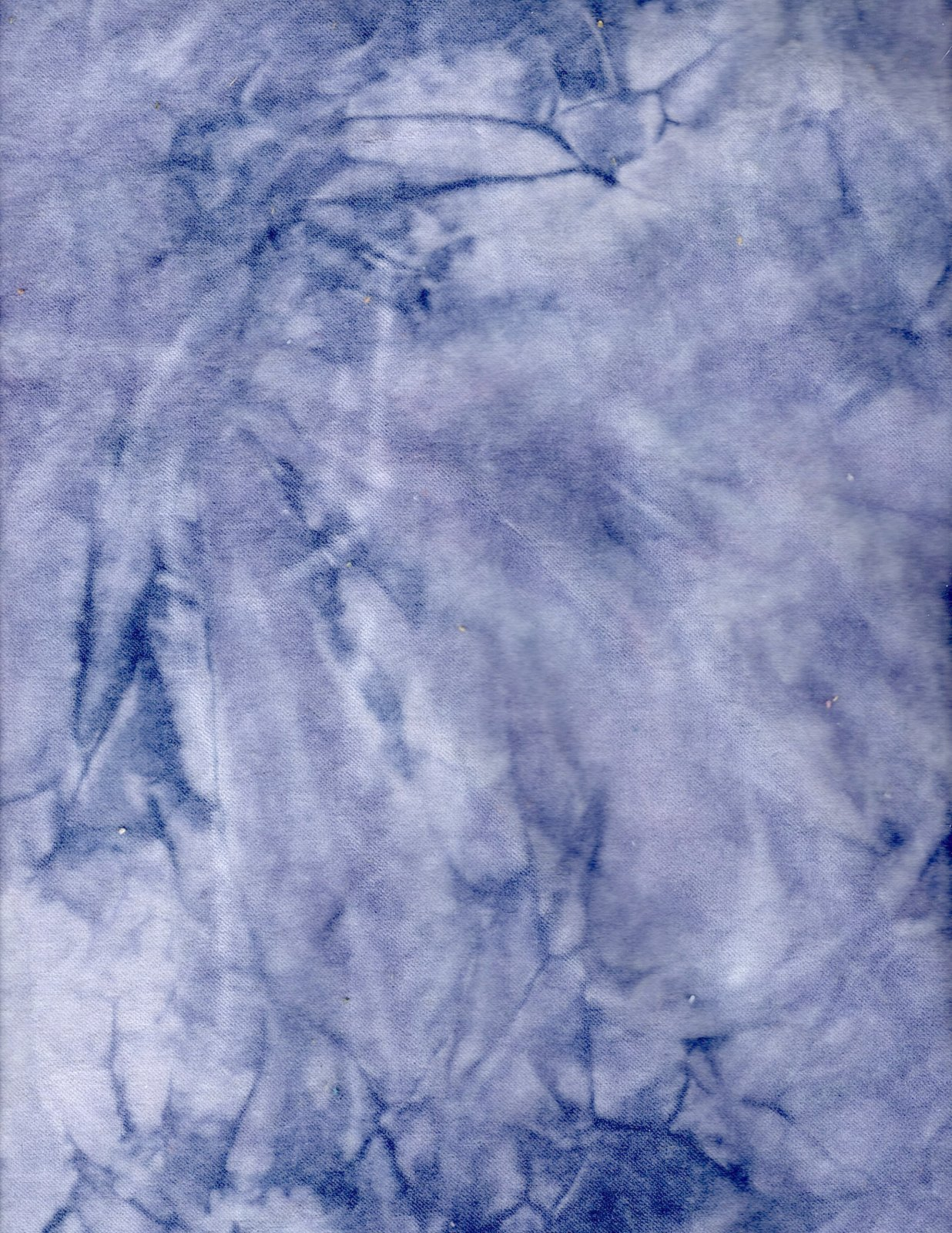 Blueberry Hand-Dyed Cotton Velveteen 9in x 10in