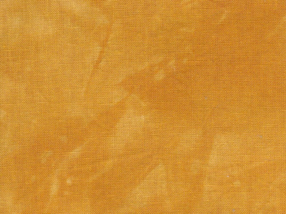 Butternut Squash Hand-Dyed Linen