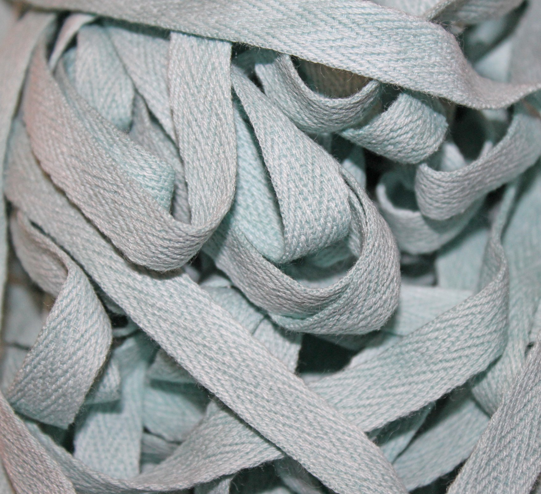 Lagoon - Hand-dyed Cotton Twill Tape