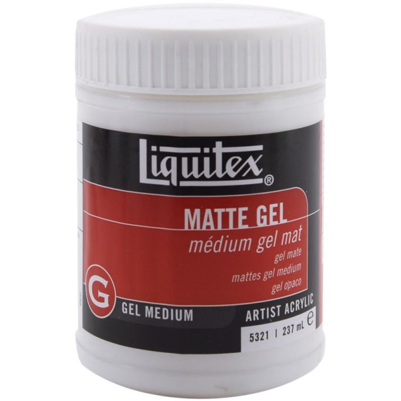 Liquitex Matte Gel Medium 8oz