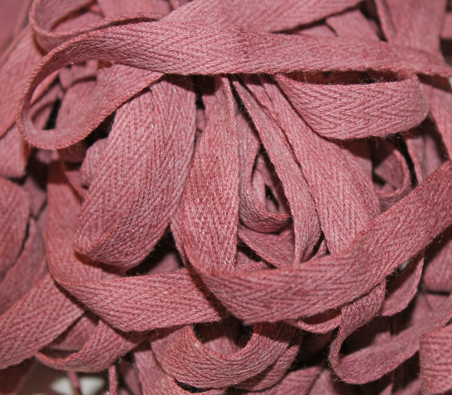 Merlot - Hand-dyed Cotton Twill Tape