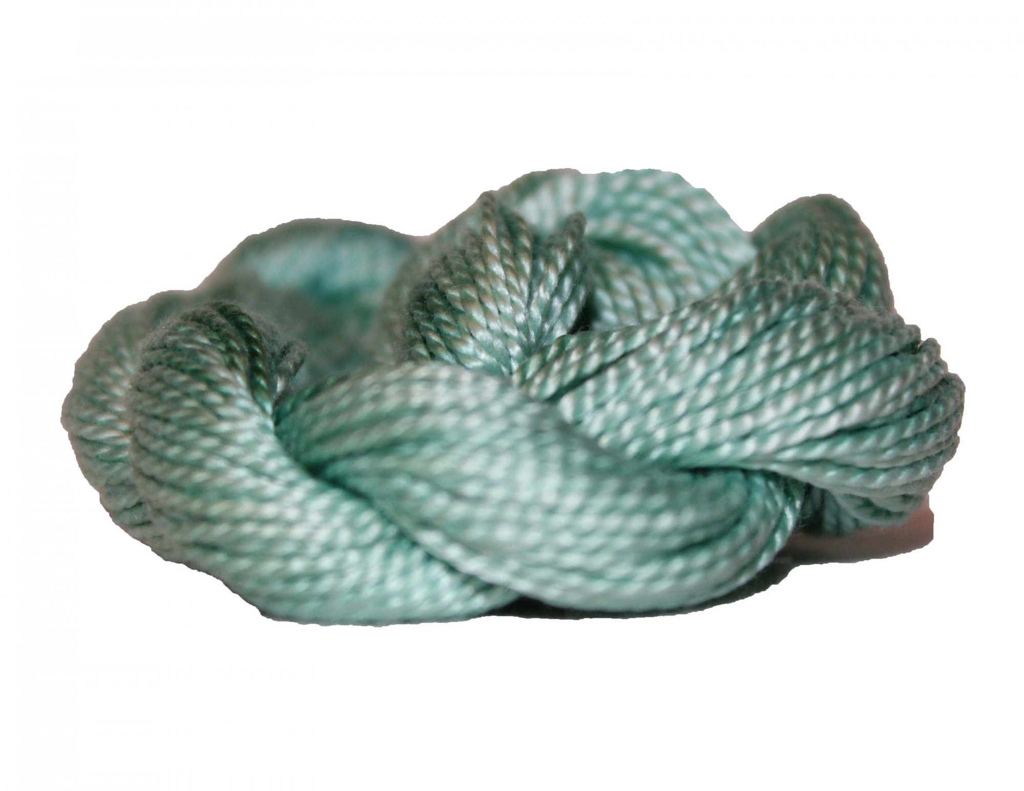 Mint Hand-Dyed Perle Cotton Size 5