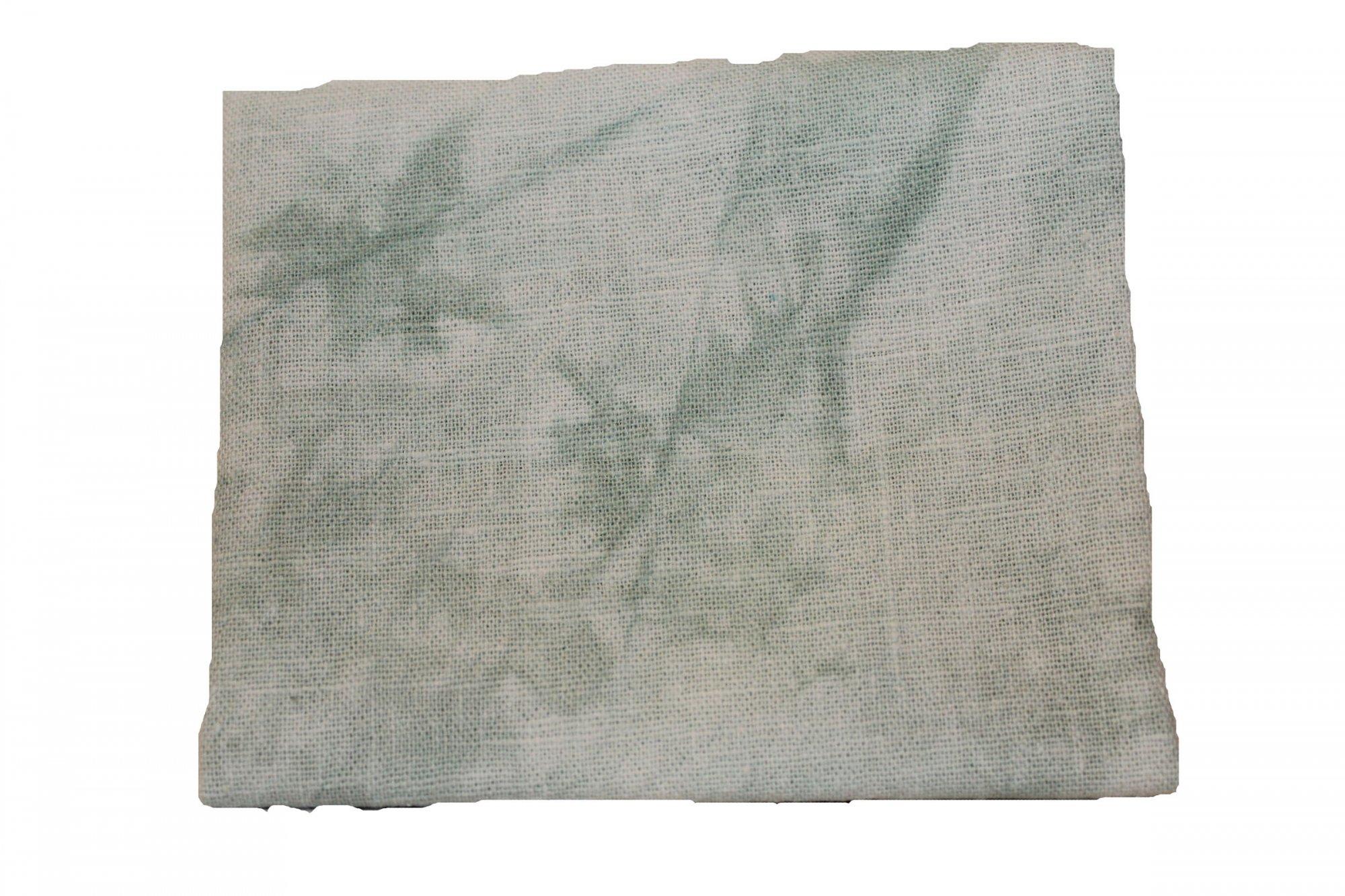 Mint Hand-dyed Linen Fat Quarter