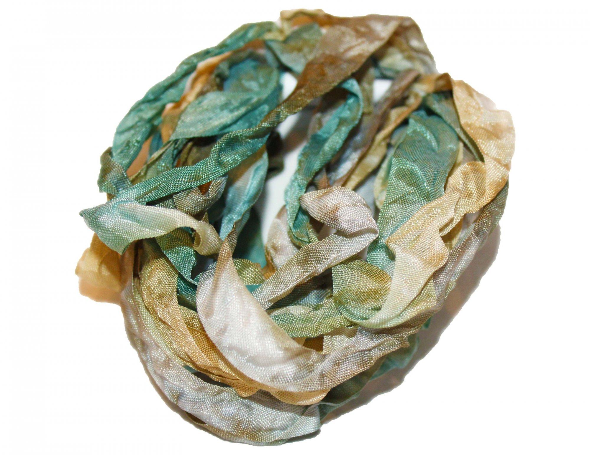 Muddy Waters Hand-Dyed Rayon Seam Binding 5yds