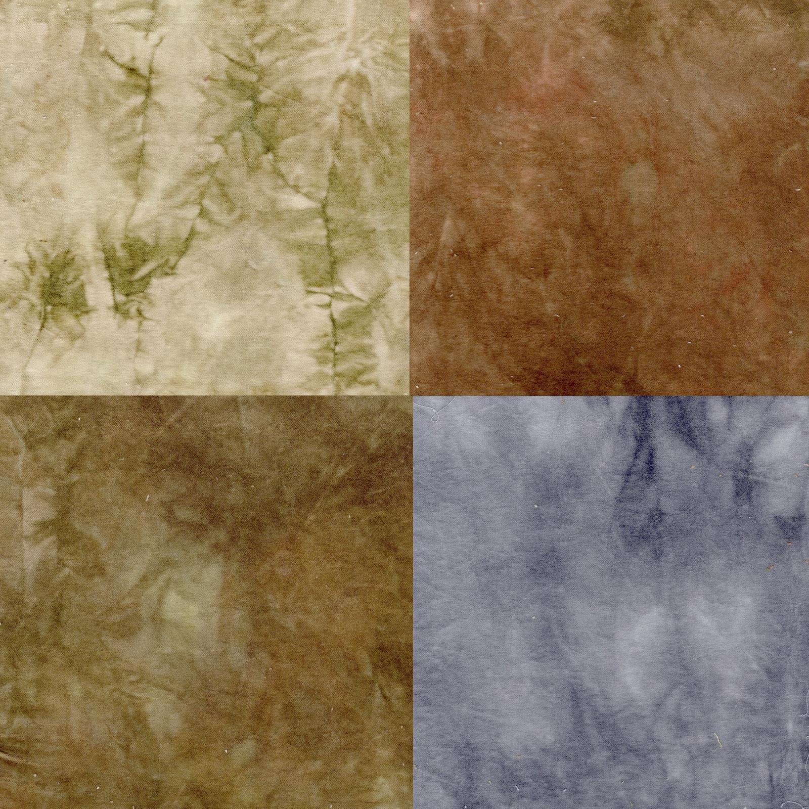 Neutrals 4pc Hand-Dyed Cotton Velveteen
