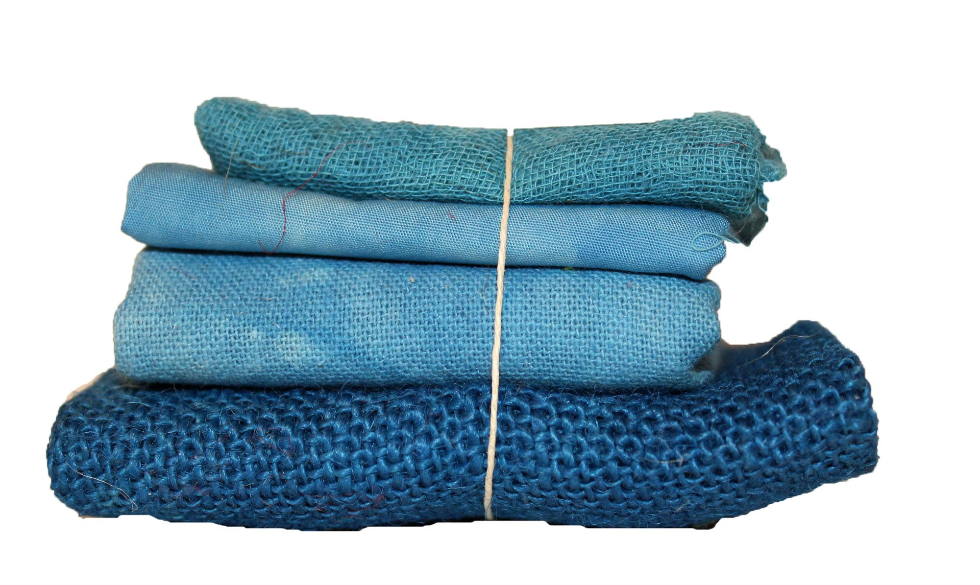 Ocean Blue Bindle - Cheesecloth, Cotton, Osnaburg, & Burlap