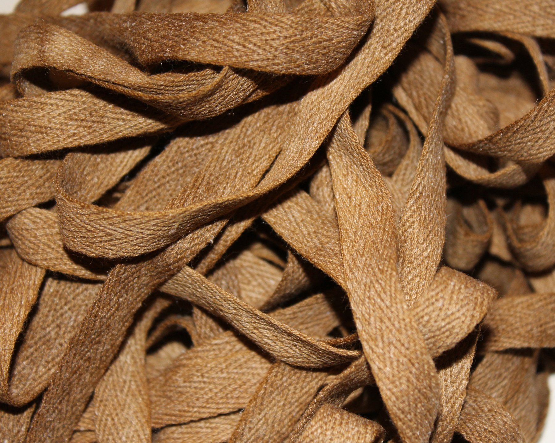 Old Gold - Hand-dyed Cotton Twill Tape