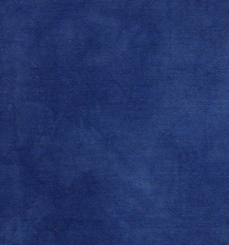 Cobalt Hand-Dyed Osnaburg
