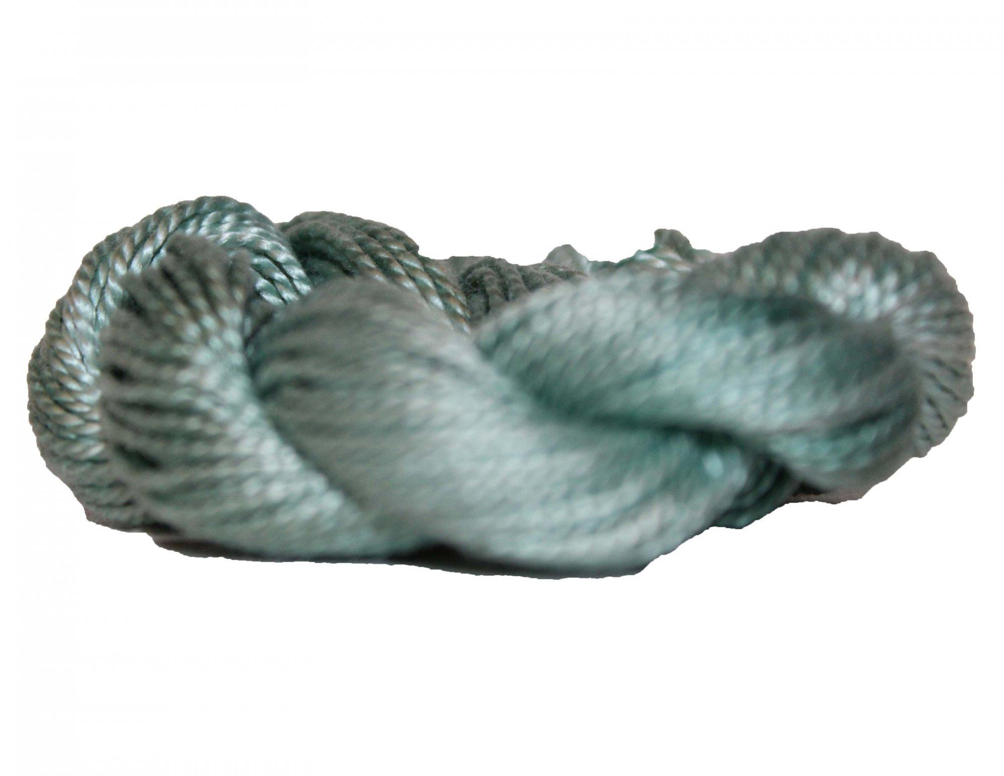 Pistachio Hand-Dyed Perle Cotton Size 5