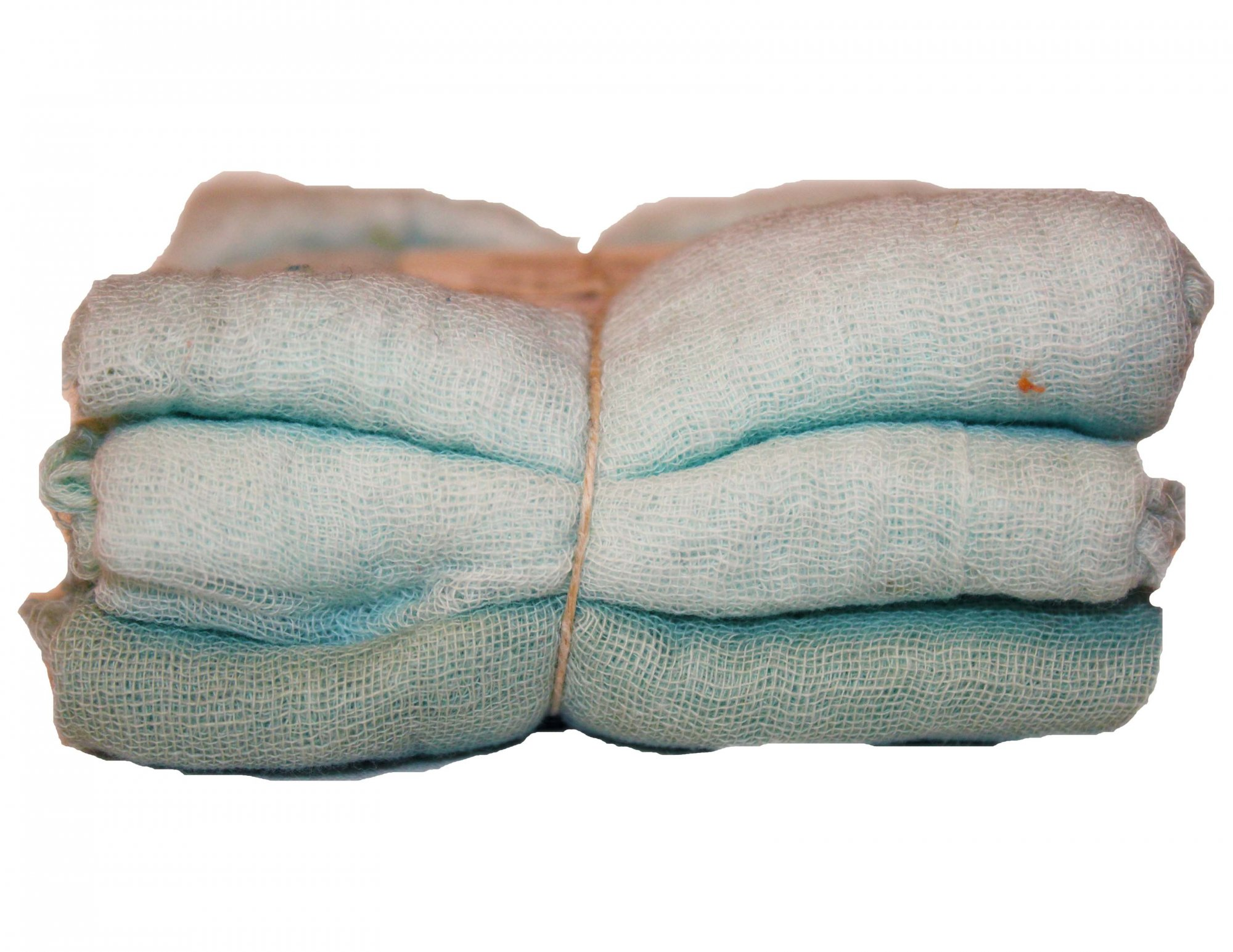 Pistachio 3pc Hand-Dyed Cheesecloth Gradation