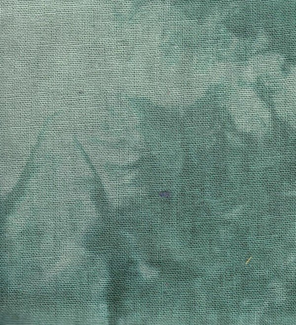 Pistachio Hand-dyed Linen