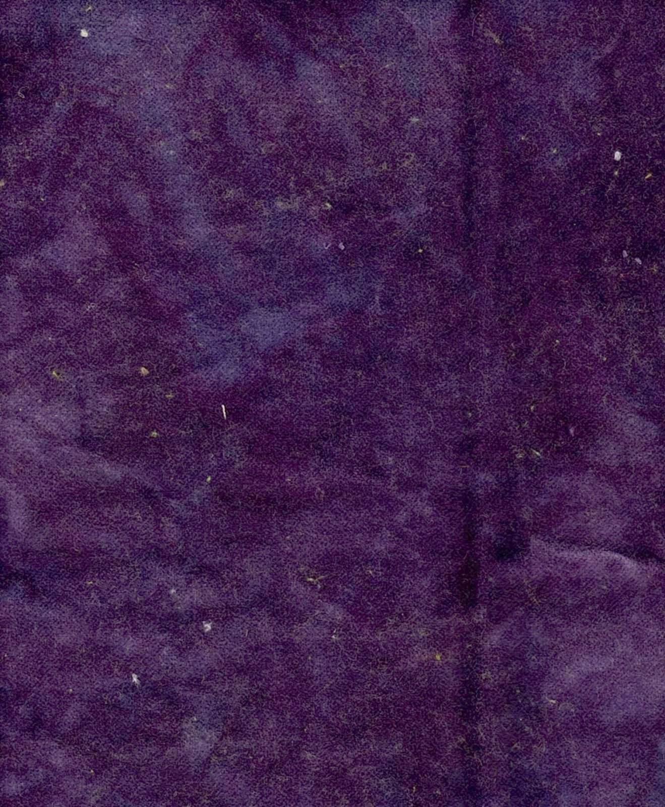 Plum Hand-Dyed Cotton Velveteen 9in x 10in