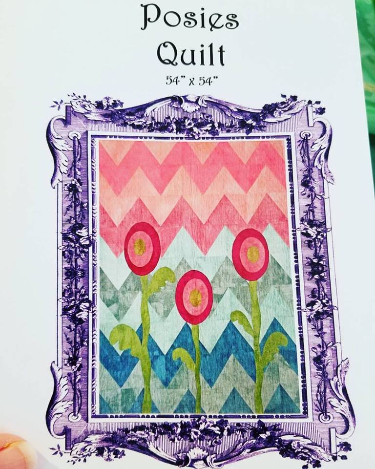 Posies Lap Quilt Pattern
