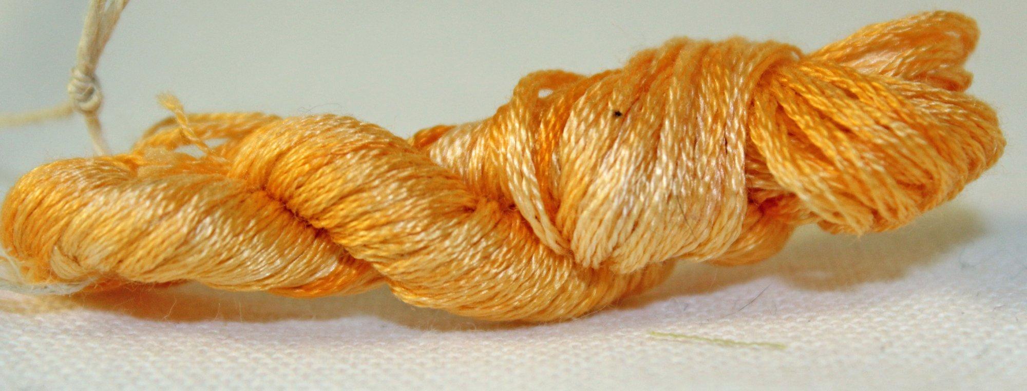Pumpkin- Hand-dyed Embroidery Floss