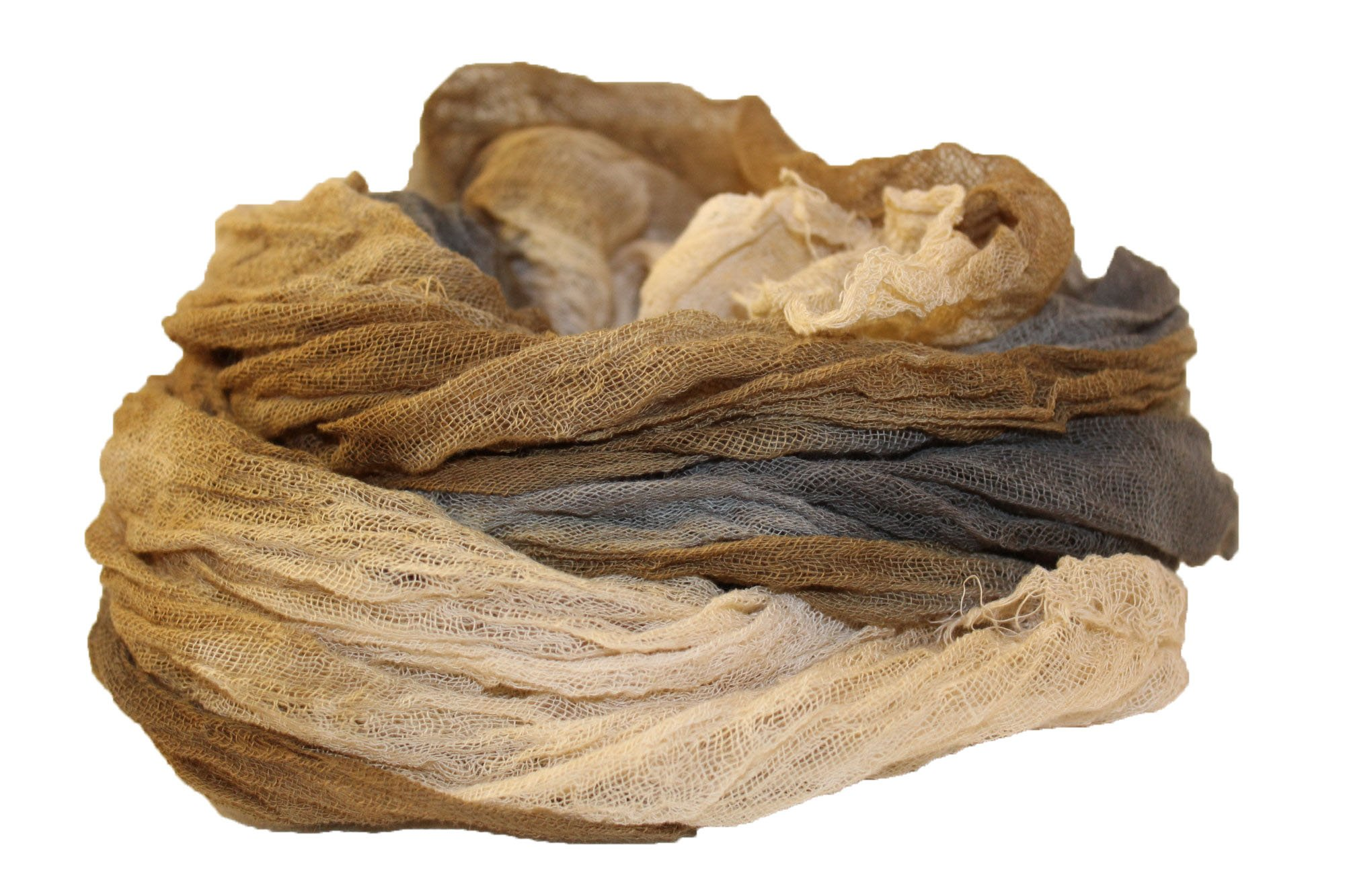 River Rock 1yd Hand-Dyed Cheesecloth