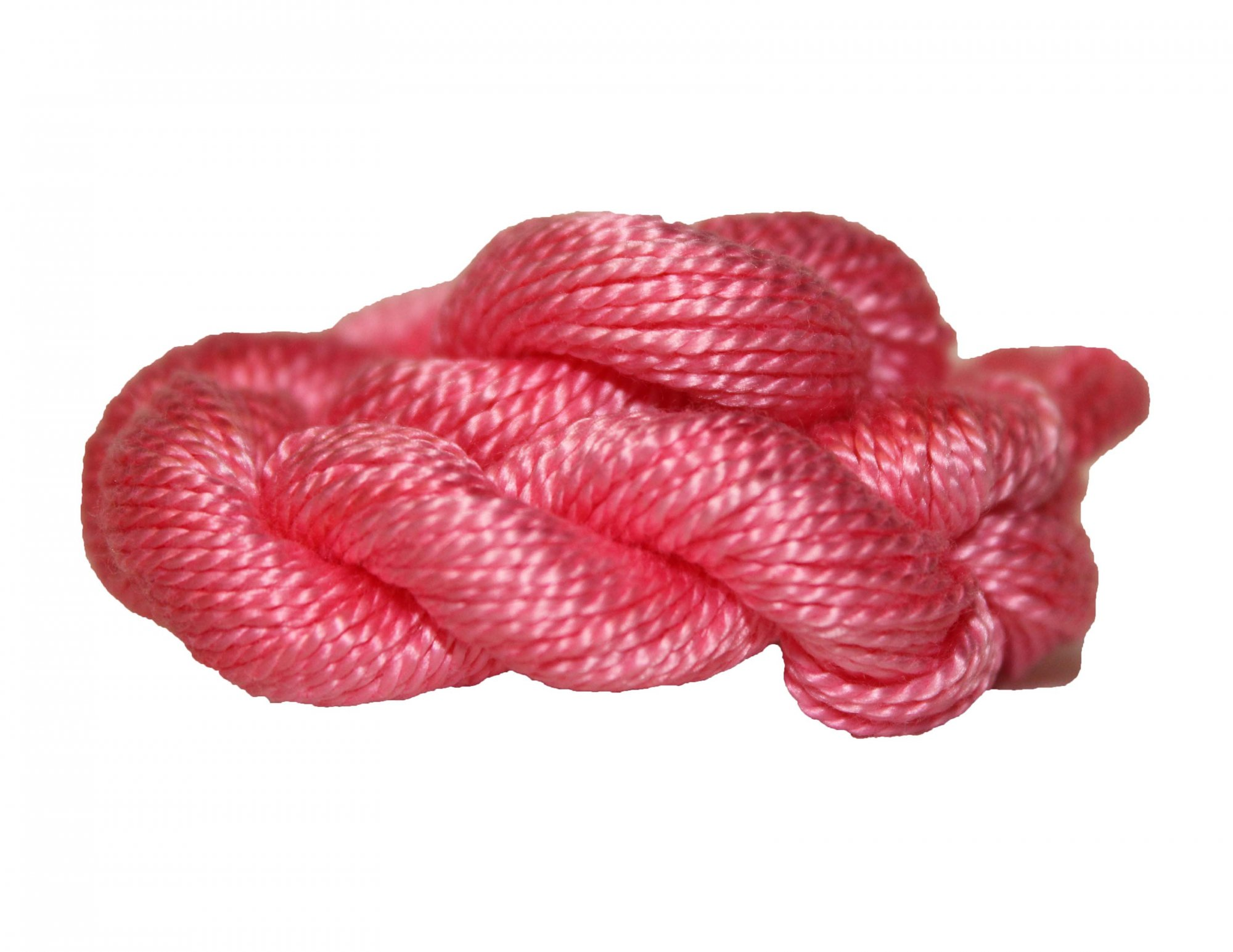 Rose Hand-Dyed Perle Cotton Size 5