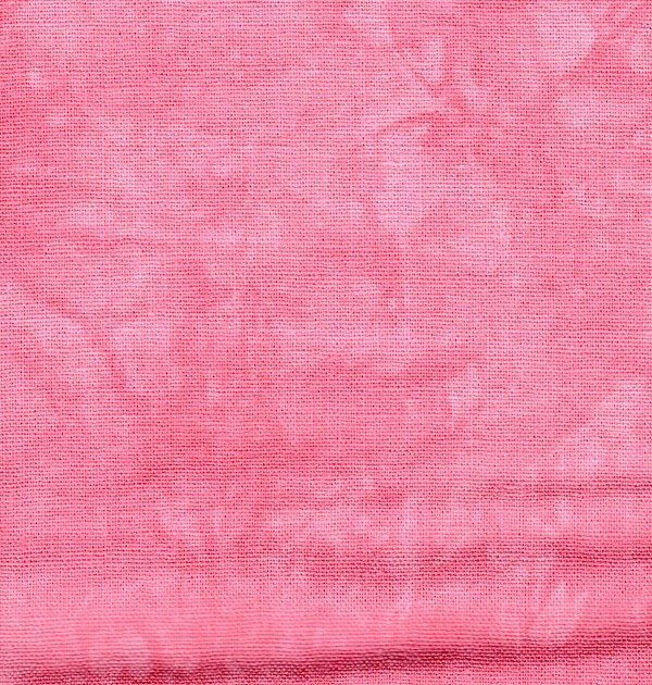 Rose Hand-dyed Linen