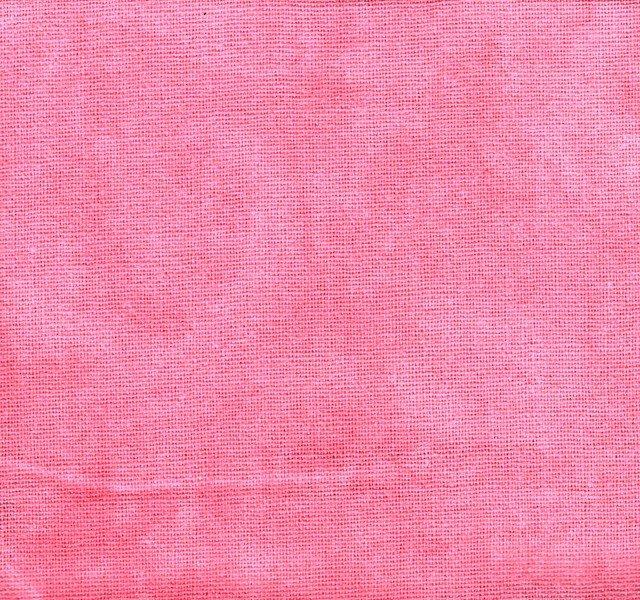 Rose Hand-dyed Osnaburg