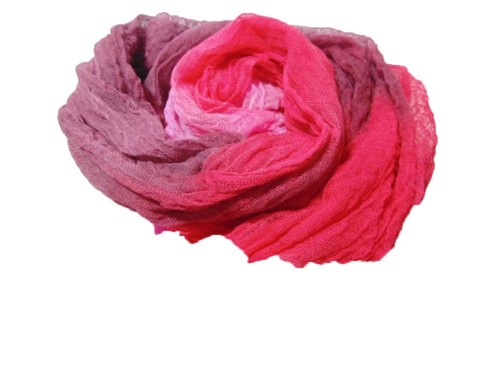 Rose Petals 1yd Hand-Dyed Cheesecloth