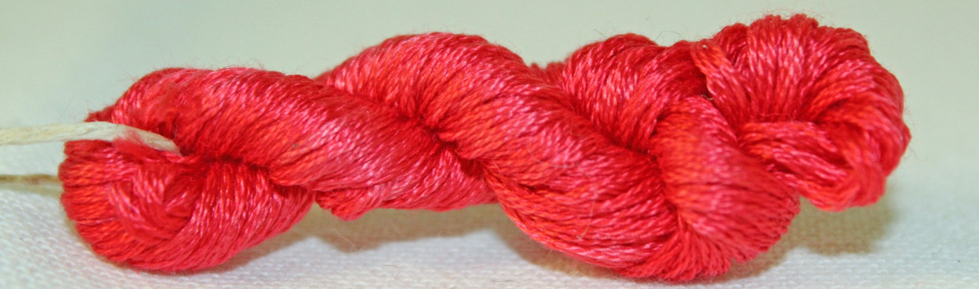 Lipstick- Hand-dyed Embroidery Floss