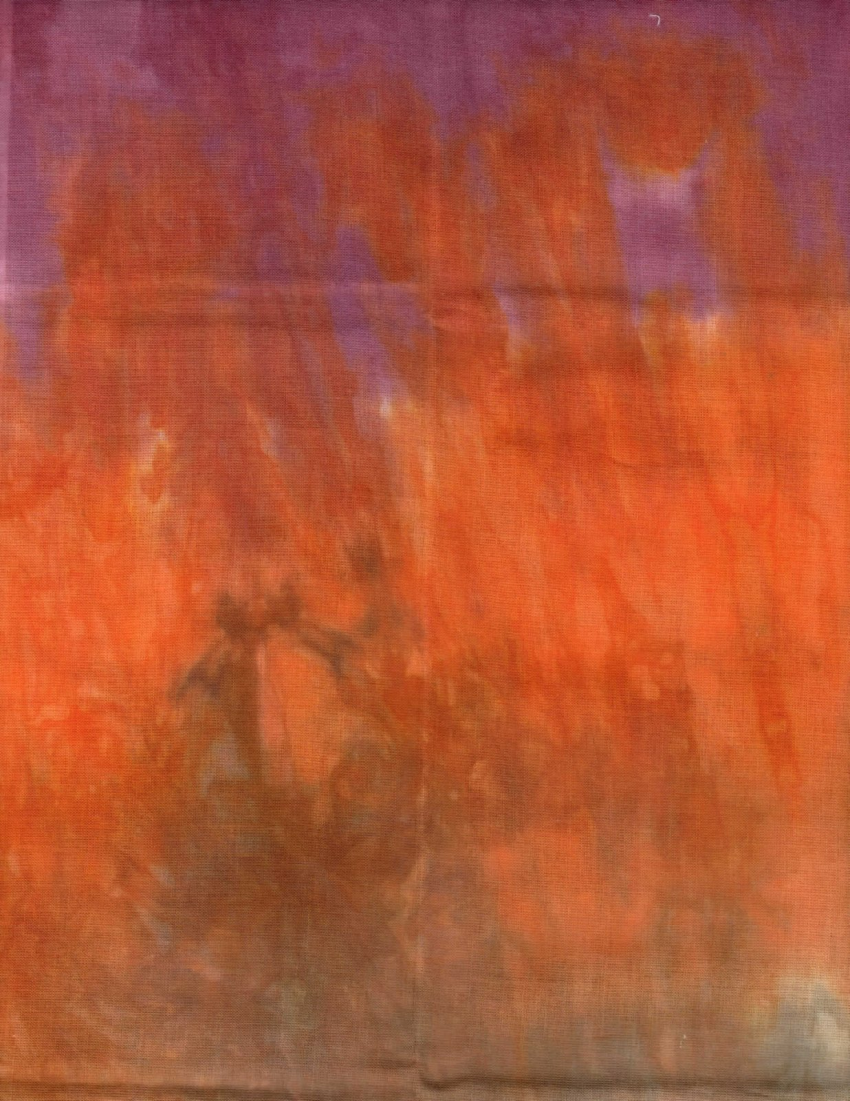 Russet Hand-Dyed Organdy FQ
