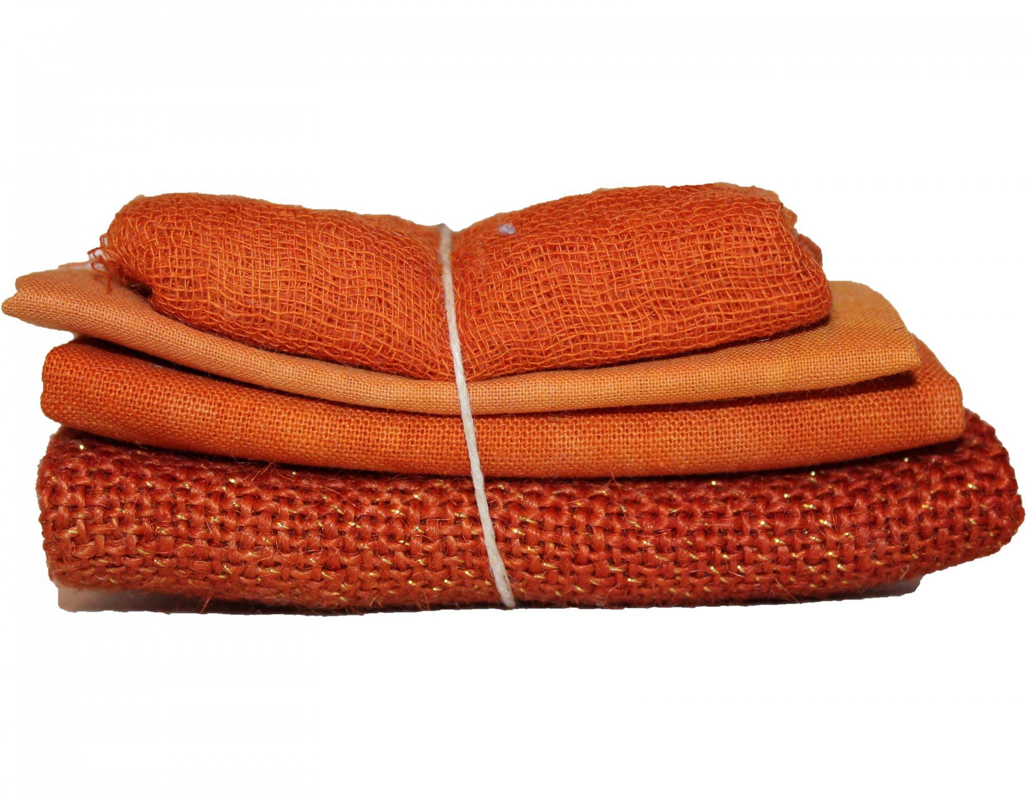 Sedona Sparkle Bindle - Cheesecloth, Organdy, Linen, & Sparkle Burlap