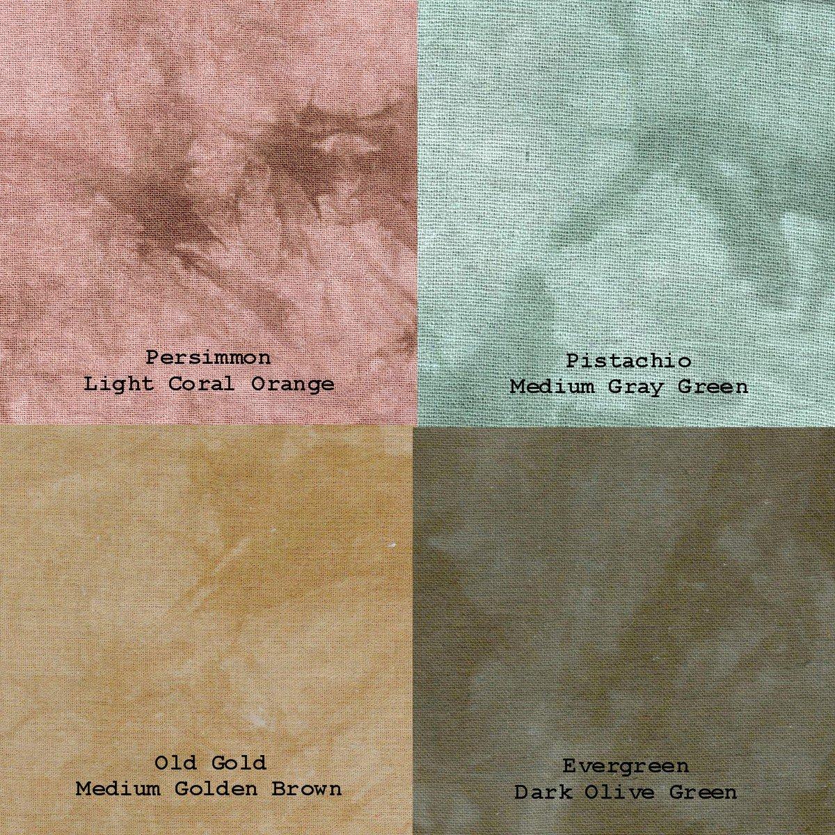 September Color Challenge Linen 4pc Fat Quarter Pack
