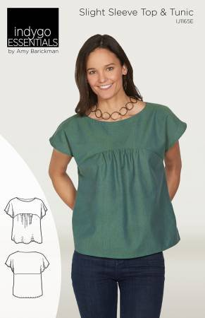 Indygo Essentials: Slight Sleeve Top and Tunic