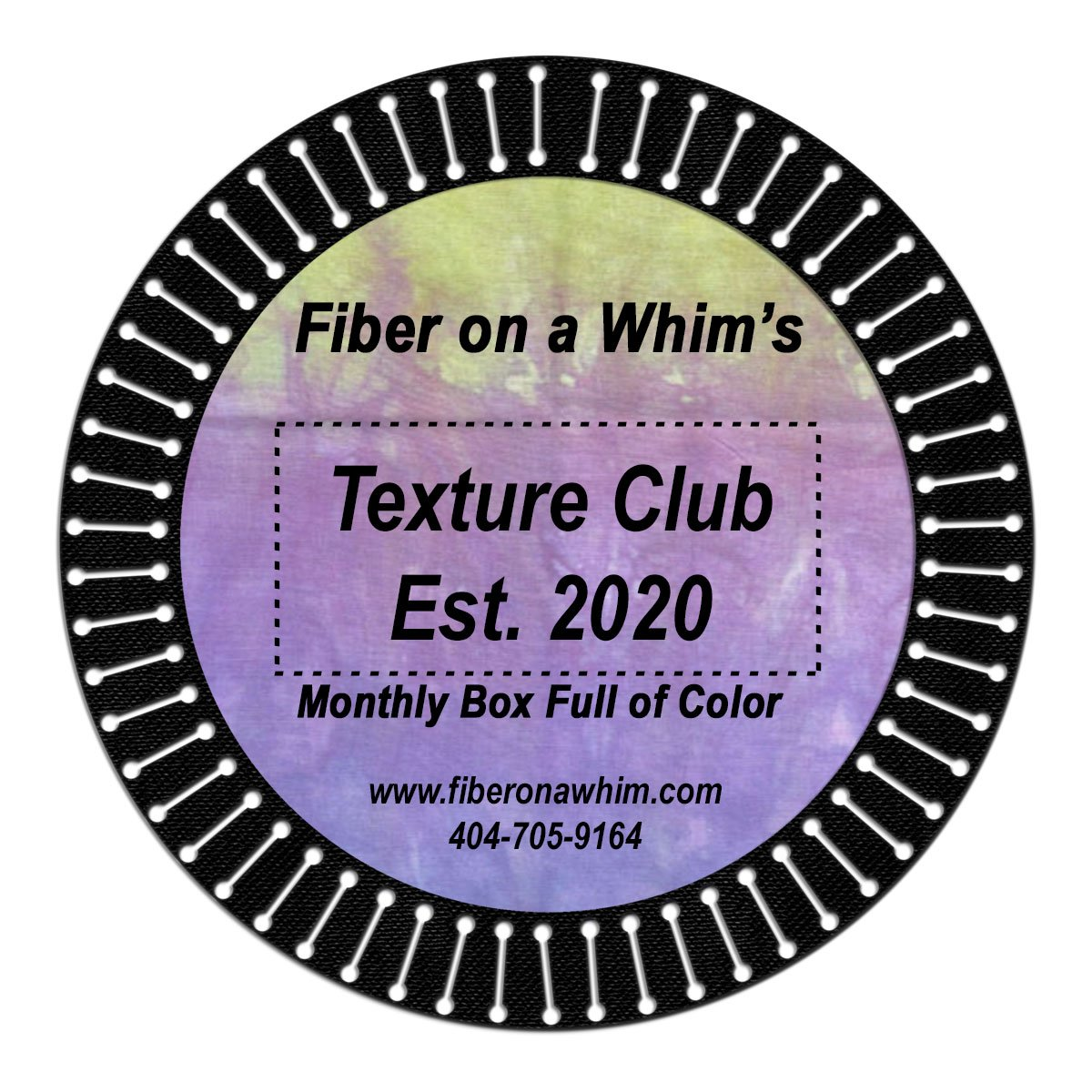 Fiber on a Whim Texture Club - Monthly Subscription