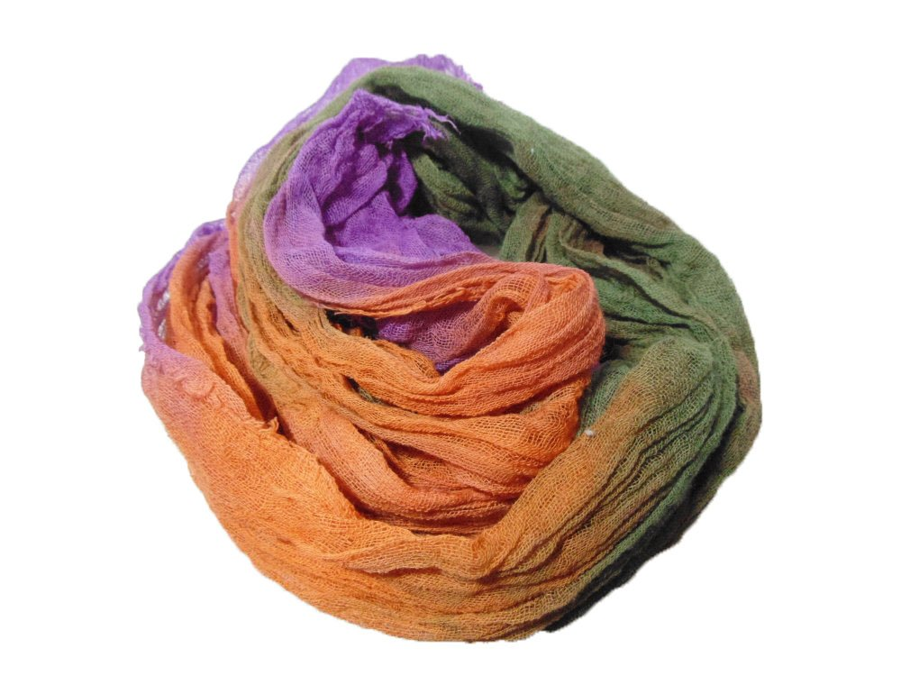 Thistles 1yd Hand-Dyed Cheesecloth